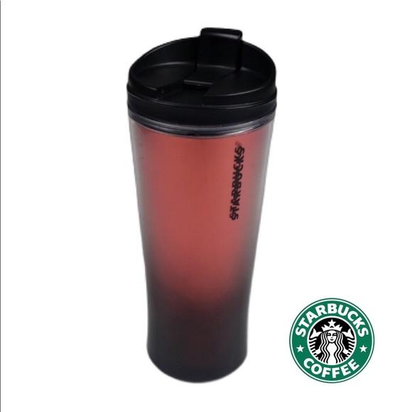Starbucks Red Tumbler Travel Mug